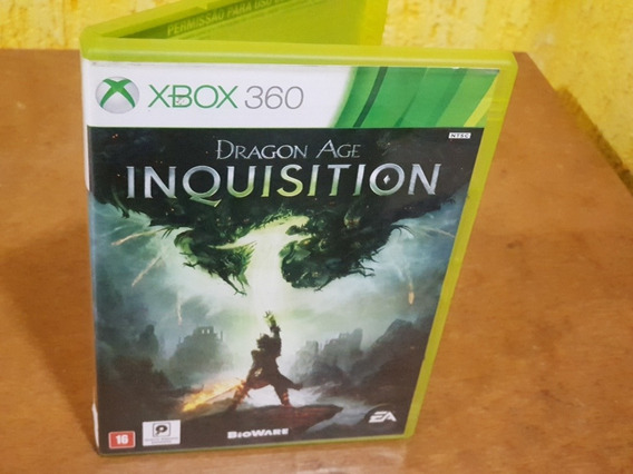 Dragon Age Inquision Usado Original Xbox 360 Midia Fisica