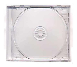 Estuche Para Cd Originales Tipo Jewel Transparente