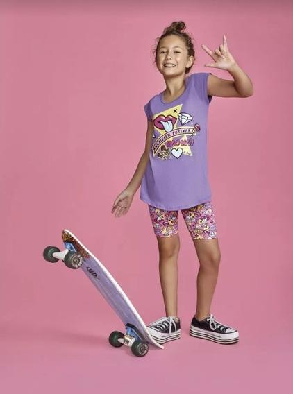 Pijama Verano Teens . So Pink Art. 11423.remera C/calza Est.