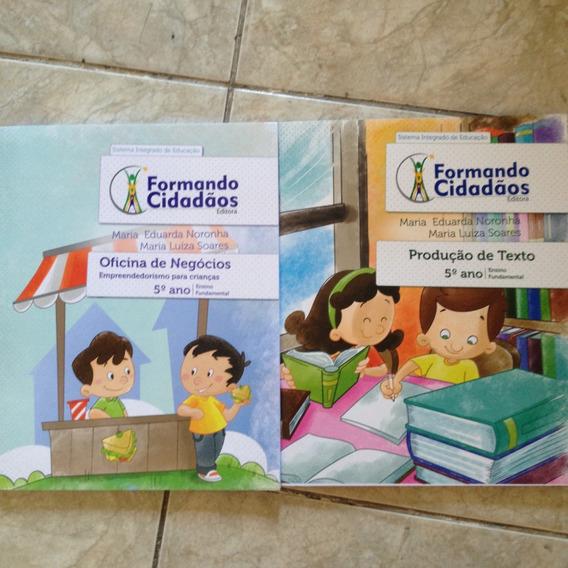 Livros Formando Cidadãos Kit C 5ª Ano Ensino Fundamental C2