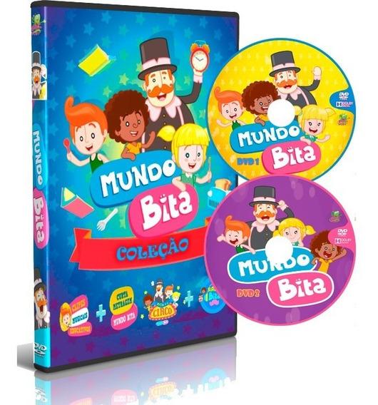 Dvd Coleção Mundo Bita Completo 8 Em 2 Dvd