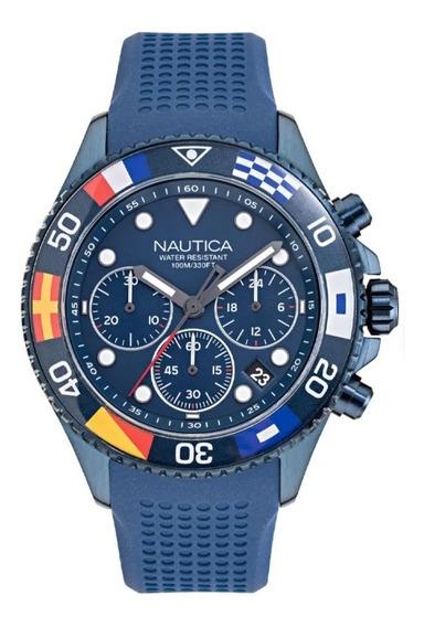 Relógio Nautica Original Masculino Azul