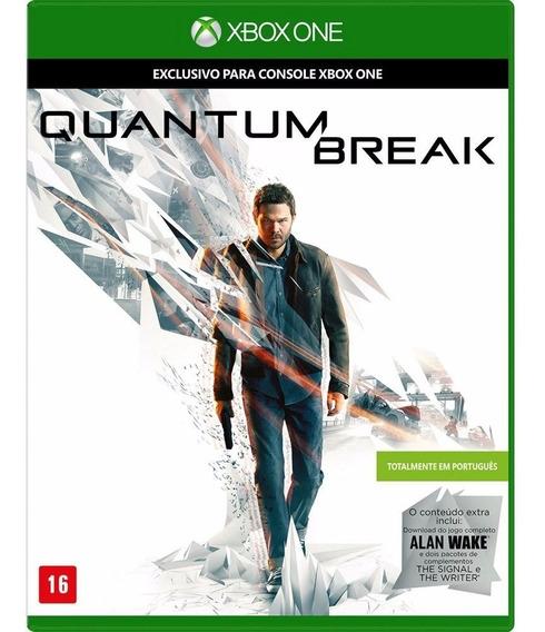 Quantum Break Xbox One Mídia Física Novo Lacrado