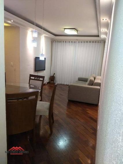 Apartamento Com 3 Dormitórios Para Alugar, 75 M² Por R$ 1.700/mês - Jardim Aquarius - São José Dos Campos/sp - Ap1838