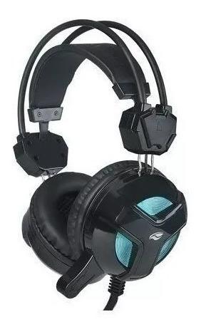 Headset Gamer C3tech Ph-g110bk Blackbird Microfone Fone Fio