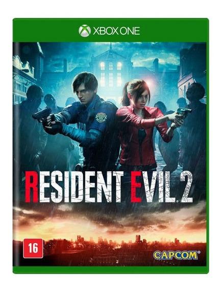 Resident Evil 2 Remake Xbox One Midia Fisica - Novo Lacrado