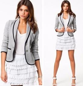 Blazer Terno Casaco Feminino Camisa Social Barato Importado