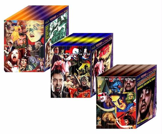 Coleção Terror No Cinema Antigo (lote 1, 2, 3 E 4) 40 Dvds