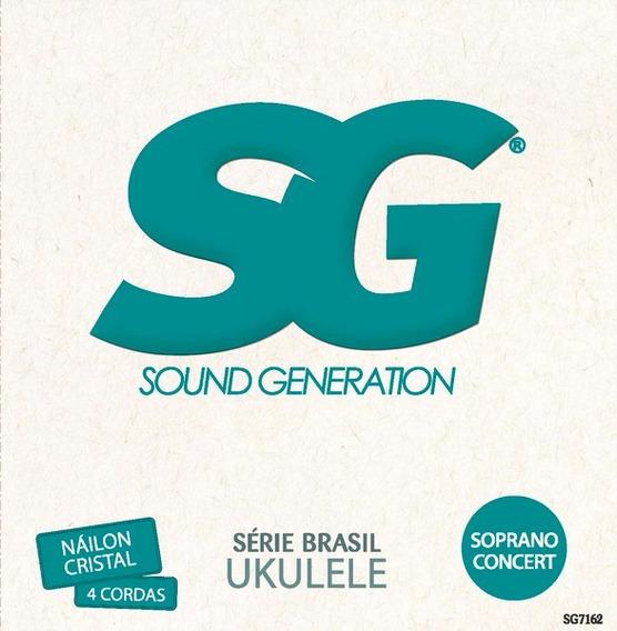 Encordoamento Ukulele Sg Soprano Concert 7162