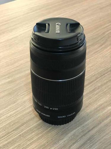 Imagem 1 de 3 de Lente Canon Ef-s 55-250mm F/4-5.6