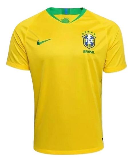 Kit Com 2 Camisas Da Seleção Brasileira De