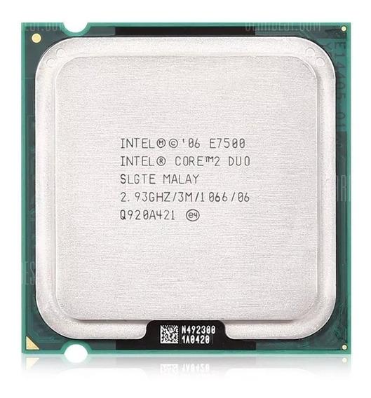 Processador Intel Lga 775 Core 2 Duo E7500 2.93ghz Nfe