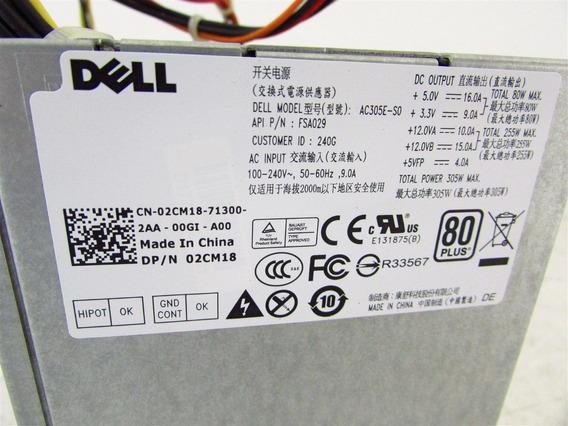 Fonte Dell 305w Pfc Optiplex Dimension Series - 2cm18