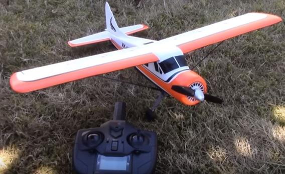 Avião Rc Dhc-2 Beaver 5 Canais Fácil Pilotagem Frete Gratis