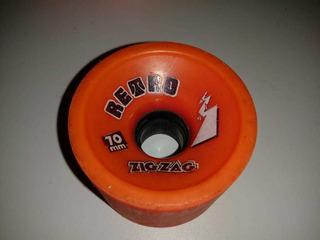 Roda Deskatelongboard Abec 11 Retro Zigzag 70mm 77a