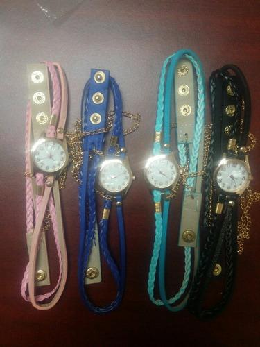 Set De 4 Reloj-pulsera Dama