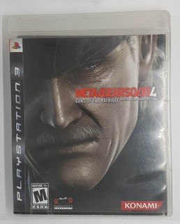 Metal Gear Solid 4 Guns Of The Patriots Ps3 Fisico Excelente