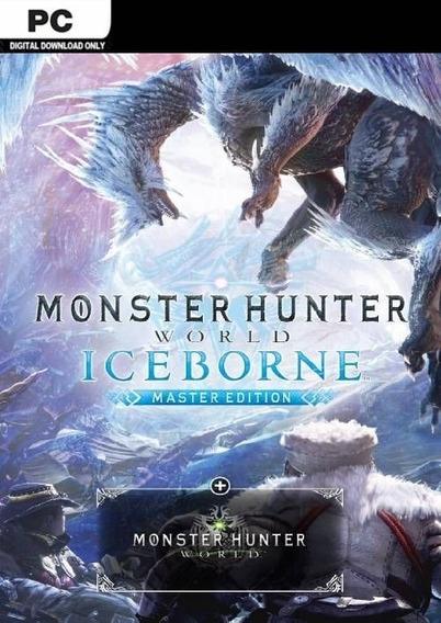Monster Hunter World Iceborne Master Edition Pc Steam 15 Díg