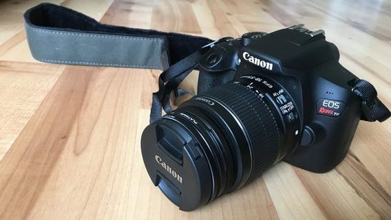 Camera T6 Com Lente 18 55