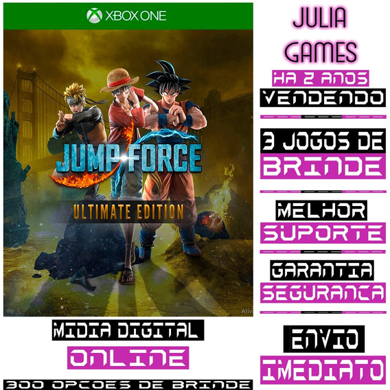 Jump Force Ultimate Edition Xbox One Digital Online