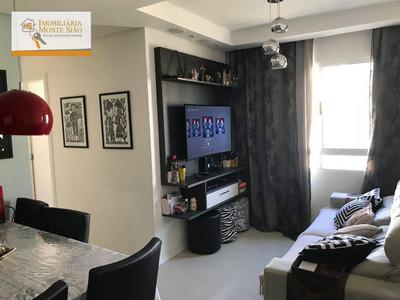 Apartamento Com 3 Dormitórios À Venda, 55 M² Por R$ 265.000 - Vila Venditti - Guarulhos/sp - Ap0909