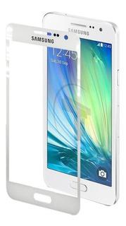 Mica Vidrio Telefono Samsung A3 A300 Blanco