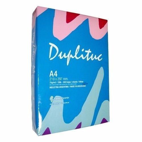 Resma Papel Duplituc A4 70gr 500hojas/preciox5 Resmas/2500ho