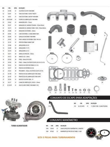 Kit Turbo Tb F1000 F4000 Mwm D229-4 225-4 226-4   Pia Alto