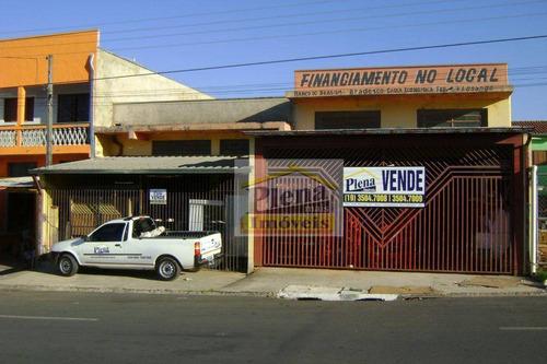 Salão  Comercial À Venda, Jardim Nova América, Hortolândia. - Sl0246