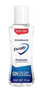Gel Sanitizante Escudo 70ml