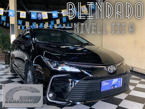 Imagem 1 de 10 de Toyota Corolla Xei 2.0 2.0 Preta 2019/2020 Flex Aut Bli