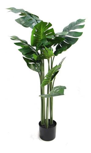 Planta Costilla De Adan Artificial Palmera Decoracion 120cm