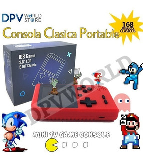 Mini Consola Portable 129 Juegos Clasicos Mario Bros Sonic