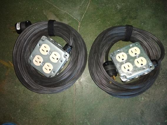 Extenciones De Cable Uso Rudo 3x14