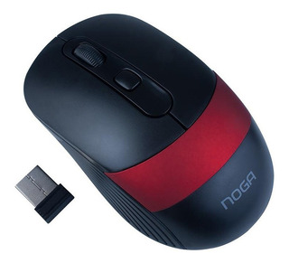 Mouse Optico Inalambrico Noga Ngm-18 Usb Ambidiestro Pc Mac
