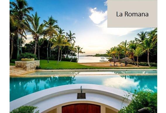 Renta Villa Con Playa Privada En Casa De Campo