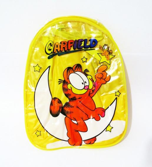 Mochila Garfield Vinilo Pvc Vintage