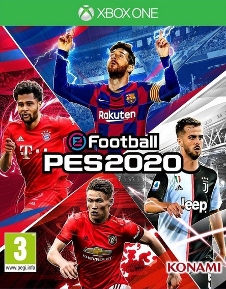 Pro Evolution Soccer 20 Pes 20 Xbox One Digital