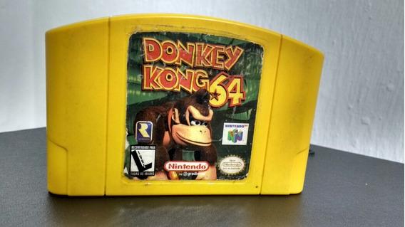Donkey Kong 64 Original Nacional Nintendo 64