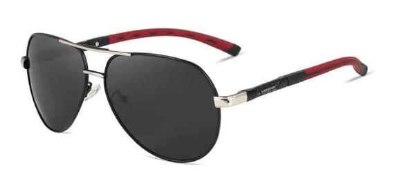 Lentes Gafas Sol Polarizadas Kingseven Plata | Negro