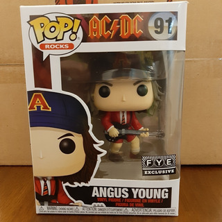 Funko Pop! Angus Young Ac/dc 91 Fye Exclusive