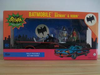 Batimovil Batman Robin Funko Automovil Juguete Muñeco Figura