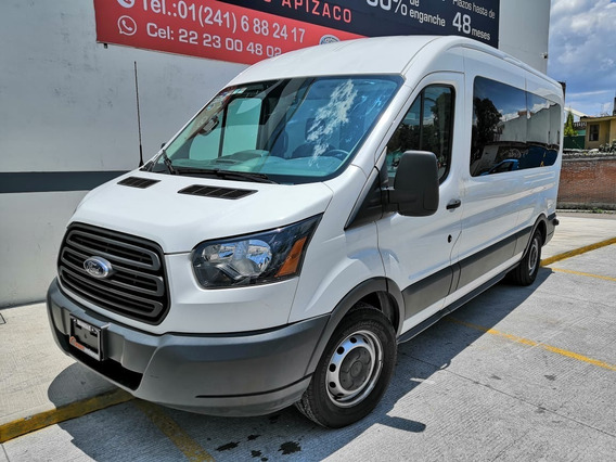 Ford Transit 3.8 Gasolina Bus 15 Pasajeros At 2017