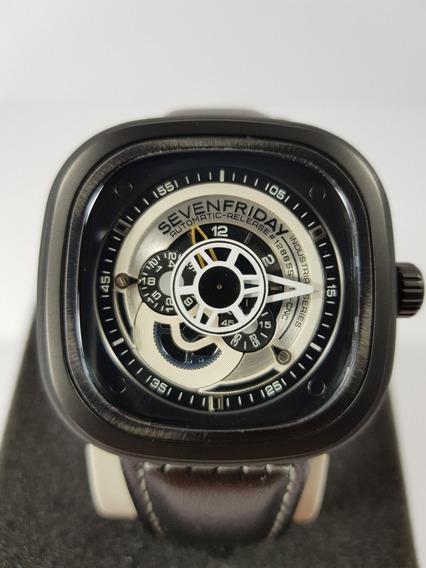 Reloj Sevenfriday Serie P 2b/ 03w Fotos Reales