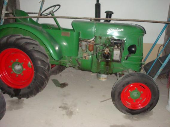 Tractor Antiguo Guldner Aleman.