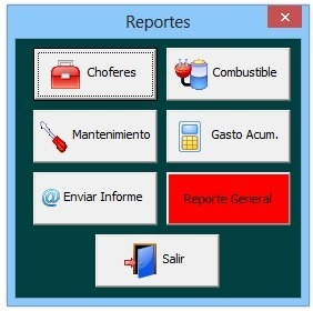 Sistema En Excel Para Controlar Vehículos (mantenimiento)