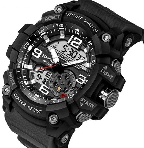 Relógio Sanda Esportivo Top Militar