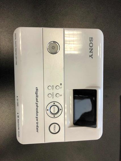 Impressora Foto Digital Lcd Sony Dpp-fp60