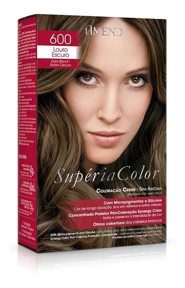 Tonalizante Amend Supéria Color 600 Louro Escuro