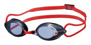 Óculos Para Natação Swans Srx-n Paf Fumê/vermelho